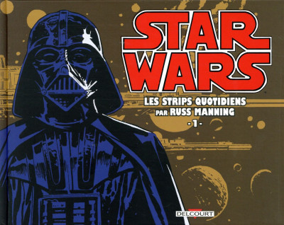 Couverture Star wars - strips tome 1
