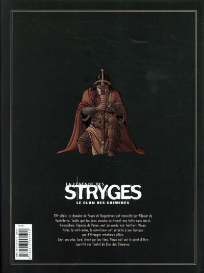 Dos La légende des stryges - intégrale - Le clan des chimères