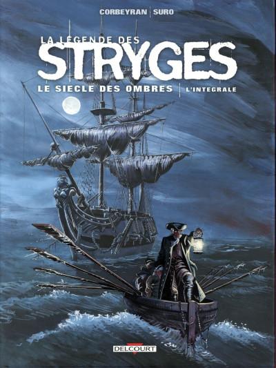 Couverture La légende des stryges - Le siècle des ombres - intégrale