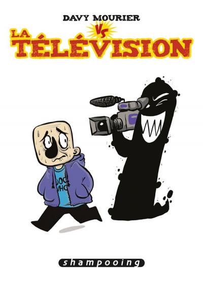 Couverture Davy Mourier VS tome 2 - La télévision