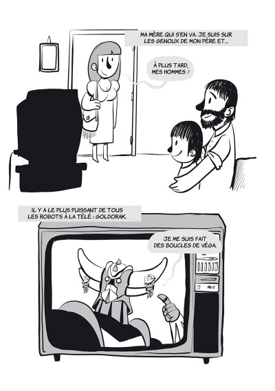Page 2 Davy Mourier VS tome 2 - La télévision