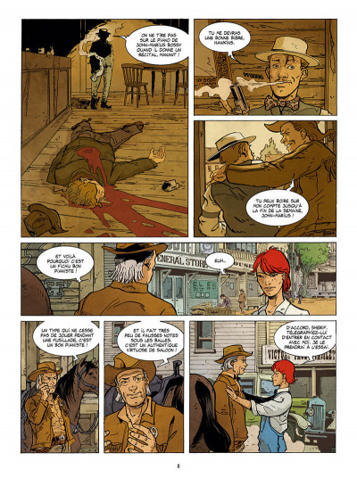 Page 8 Julie Doohan tome 2