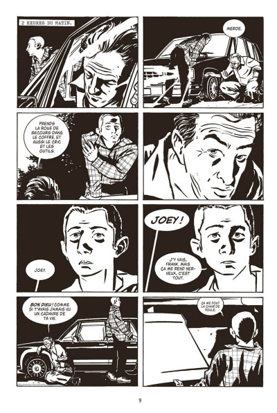 Page 9 Stray bullets tome 1