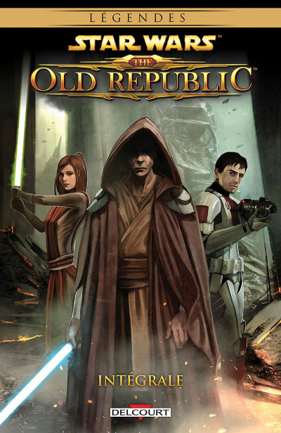 Couverture Star wars - The old republic - intégrale