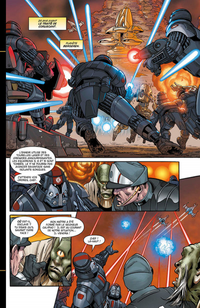 Page 7 Star wars - The old republic - intégrale