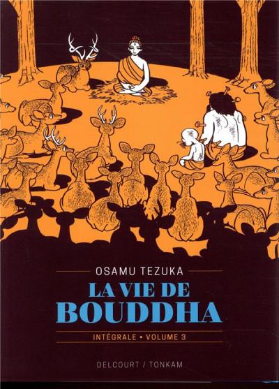 Couverture La vie de Bouddha - intégrale tome 3