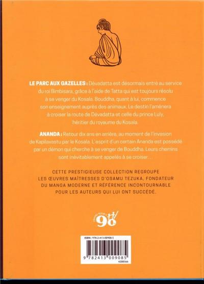 Dos La vie de Bouddha - intégrale tome 3