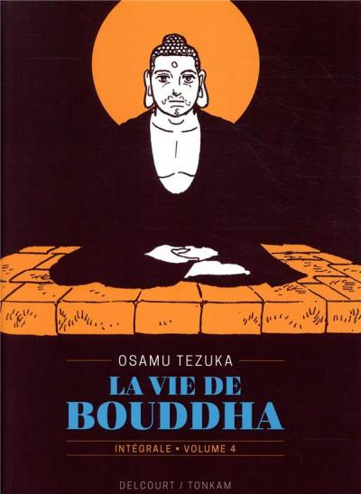 Couverture La vie de bouddha - intégrale tome 4