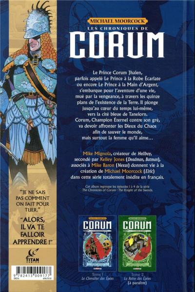 Dos Les chroniques de Corum tome 1
