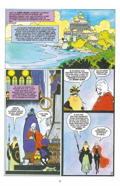 Page 1 Les chroniques de Corum tome 1