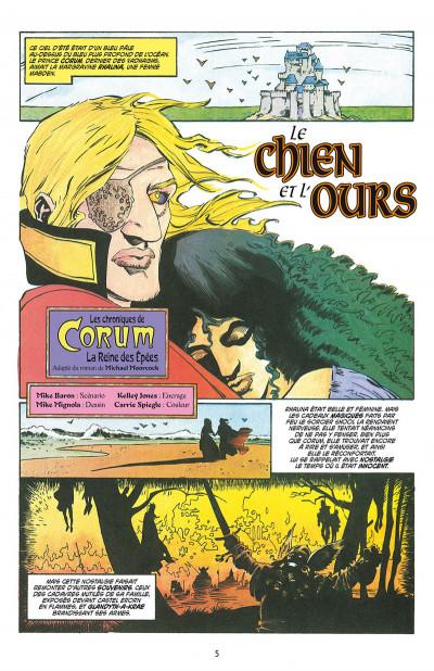 Page 1 Les chroniques de Corum tome 2