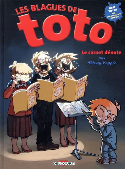 Couverture Les blagues de Toto - HS - Le carnet dénote