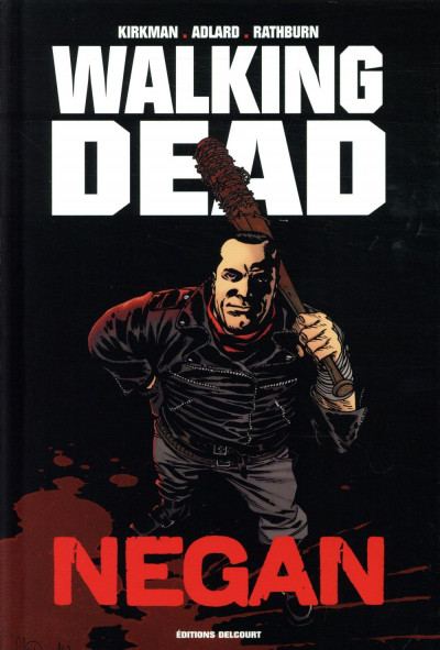 Couverture Walking dead - Negan (édition prestige)