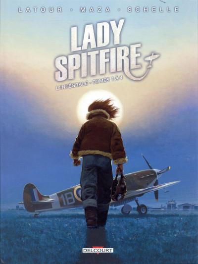 Couverture Lady Spitfire - intégrale