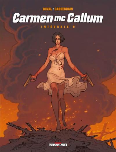 Couverture Carmen Mc Callum - intégrale tome 0