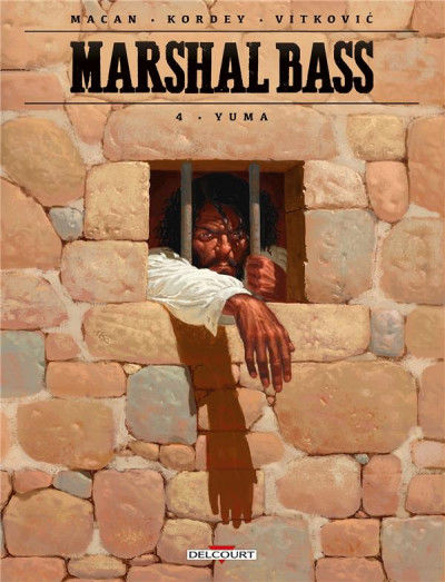 Couverture Marshal Bass tome 4 + ex-libris offert