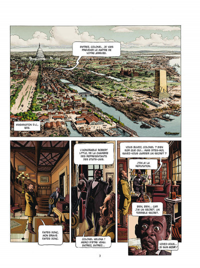 Page 1 Marshal Bass tome 4 + ex-libris offert