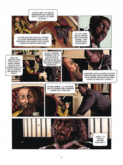 Page 3 Marshal Bass tome 4 + ex-libris offert