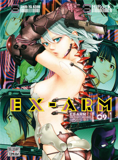 Couverture Ex-arm tome 9