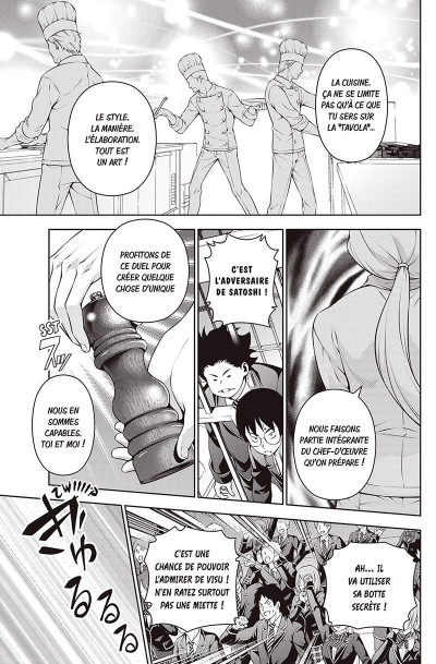 Page 7 Food wars ! tome 25