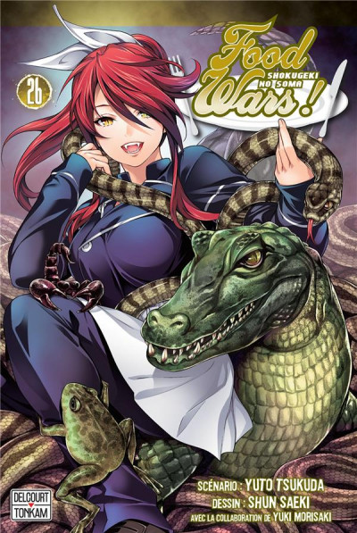Couverture Food wars ! tome 26