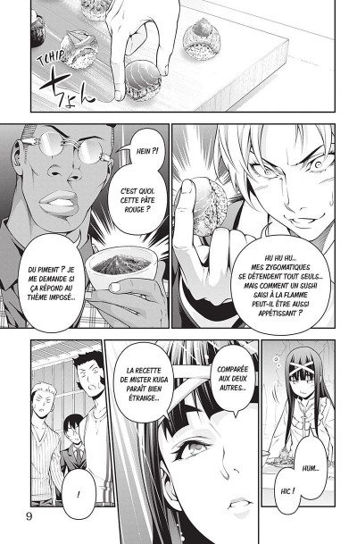 Page 7 Food wars ! tome 27