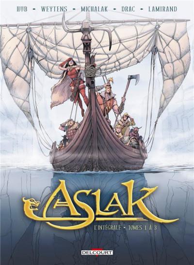 Couverture Aslak - intégrale tome 1 à 3