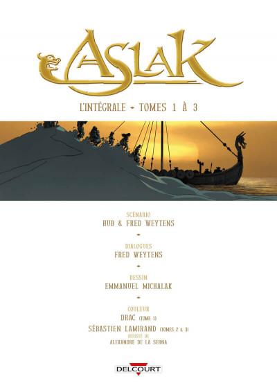 Page 1 Aslak - intégrale tomes 1 à 3