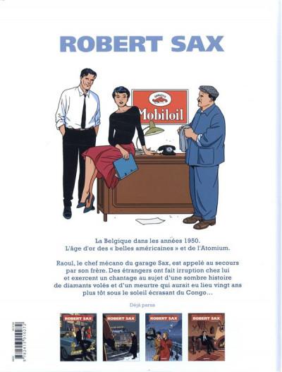 Dos Robert Sax tome 4