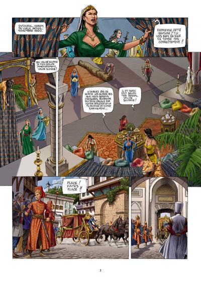 Page 3 Les reines de sang - Roxelane, la joyeuse tome 1