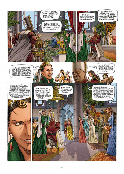 Page 4 Les reines de sang - Roxelane, la joyeuse tome 1