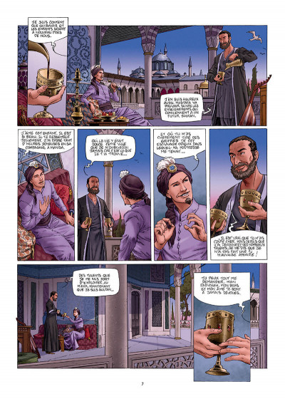 Page 7 Les reines de sang - Roxelane, la joyeuse tome 1