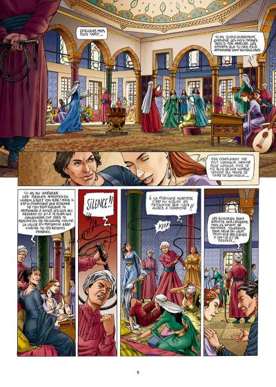 Page 9 Les reines de sang - Roxelane, la joyeuse tome 1