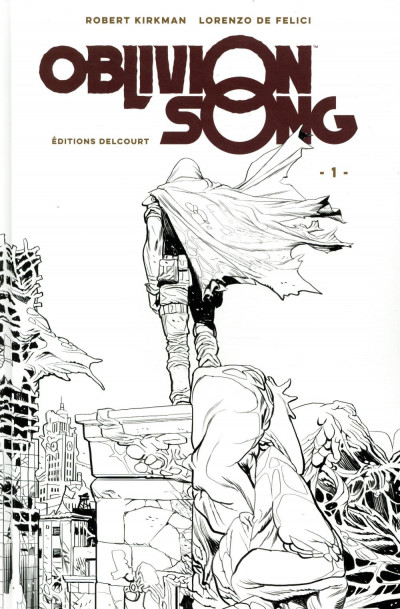 Couverture Oblivion song - édition collector n&b tome 1