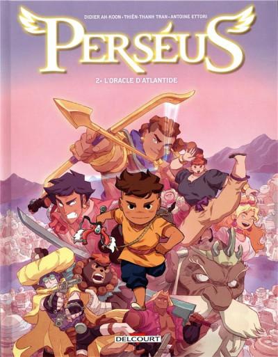 Couverture Perséus tome 2