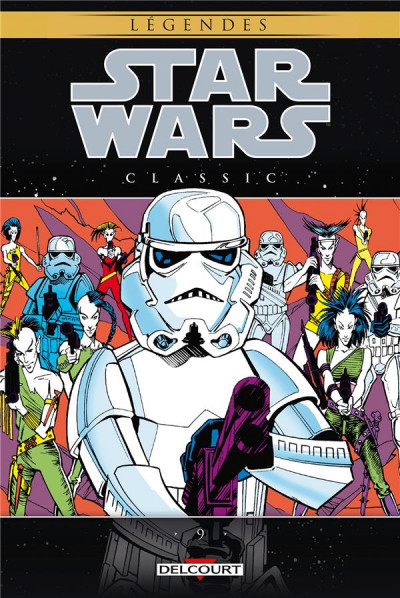 Couverture Star wars - classic tome 9