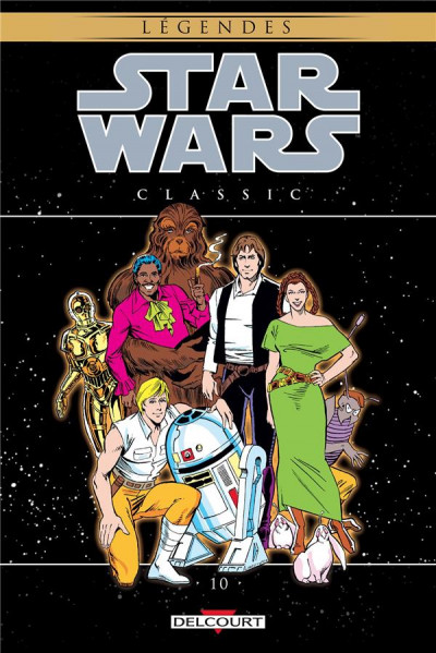 Couverture Star wars - classic tome 10