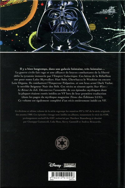 Dos Star wars - classic tome 10