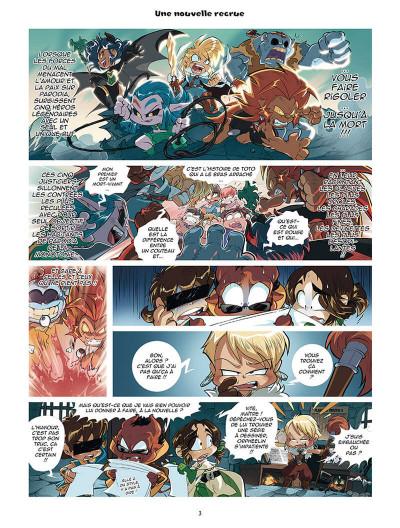 Page 1 Les légendaires - parodia tome 4