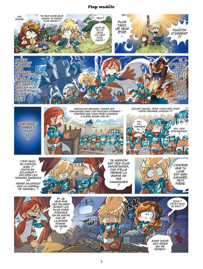 Page 3 Les légendaires - parodia tome 4