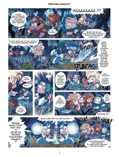 Page 4 Les légendaires - parodia tome 4