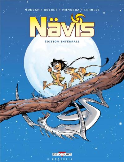 Couverture Nävis - intégrale tomes 1 à 5