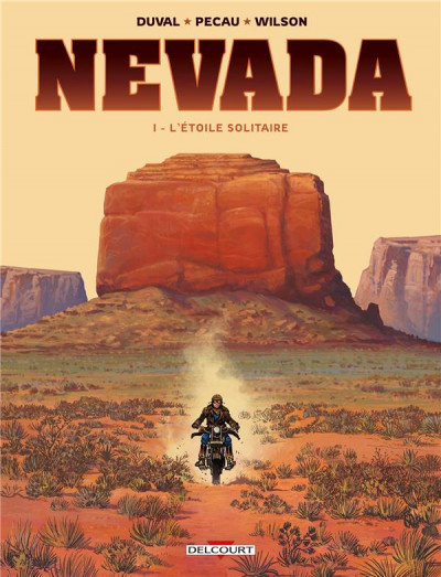 Couverture Nevada tome 1