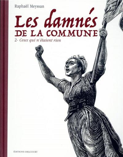 Couverture Les damnés de la Commune tome 2