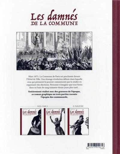 Dos Les damnés de la Commune tome 2