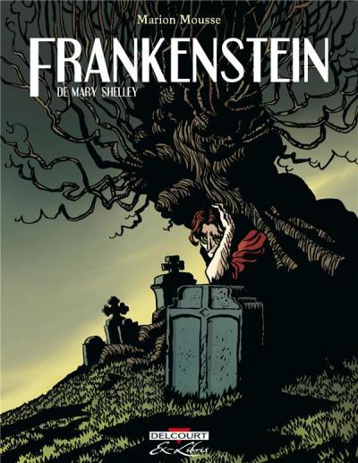Couverture Frankenstein de Mary Shelley - intégrale