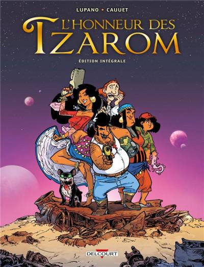Couverture L'honneur des Tzarom - intégrale
