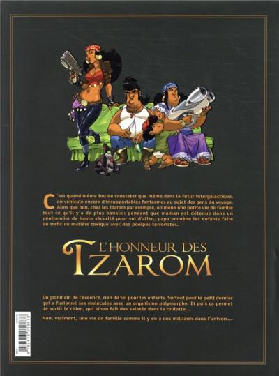 Dos L'honneur des Tzarom - intégrale