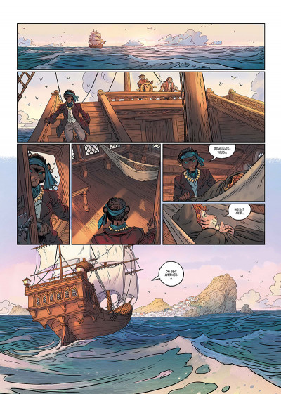 Page 1 Les 5 terres tome 3 + ex-libris offert