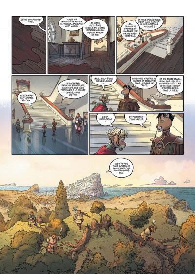 Page 2 Les 5 terres tome 3 + ex-libris offert